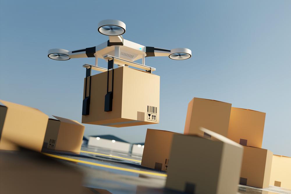 Uso de drones; estrategia de logística de distribución